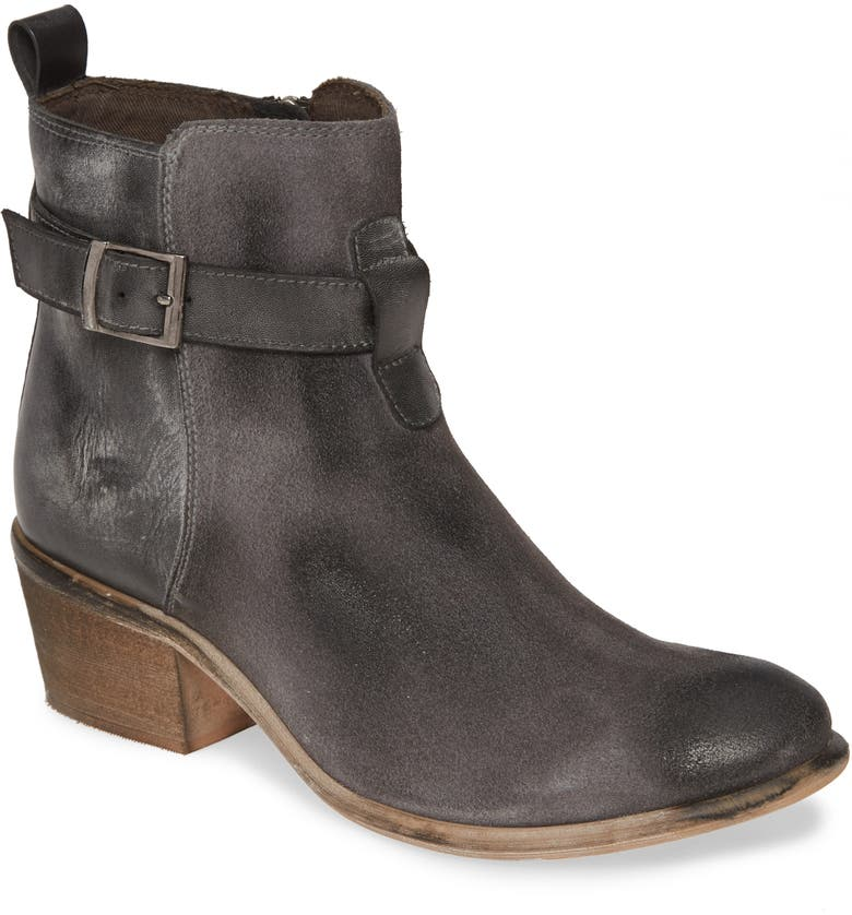 ROAN Uma Bootie, Main, color, GREY/ WHITE LEATHER