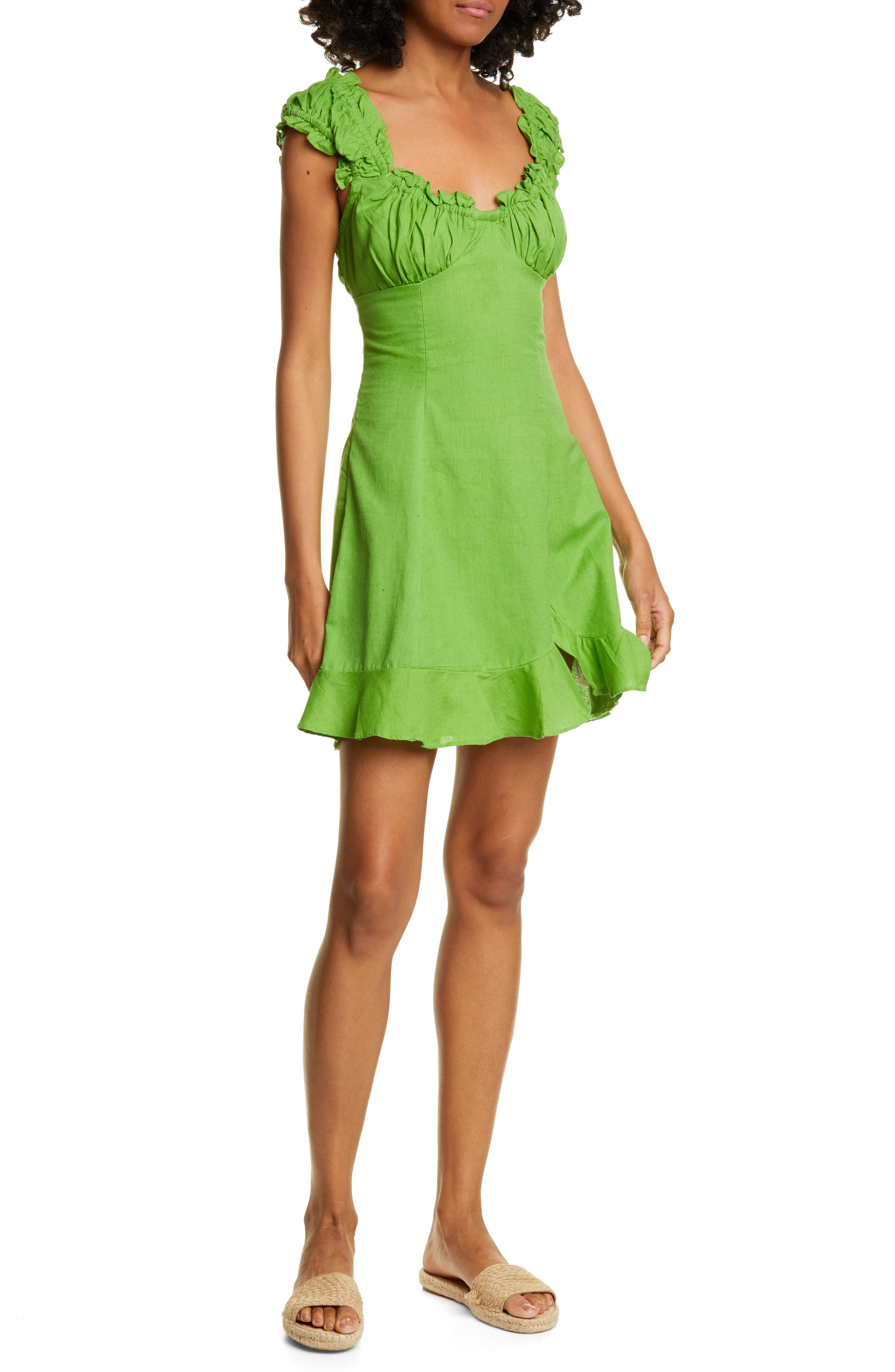 Endless Summer By Free People Like A Lady Sundress, Green