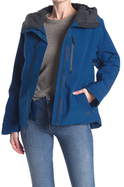 Image of MOUNTAIN HARDWEAR FireFall/2 Waterproof Insulated Hooded Jacket