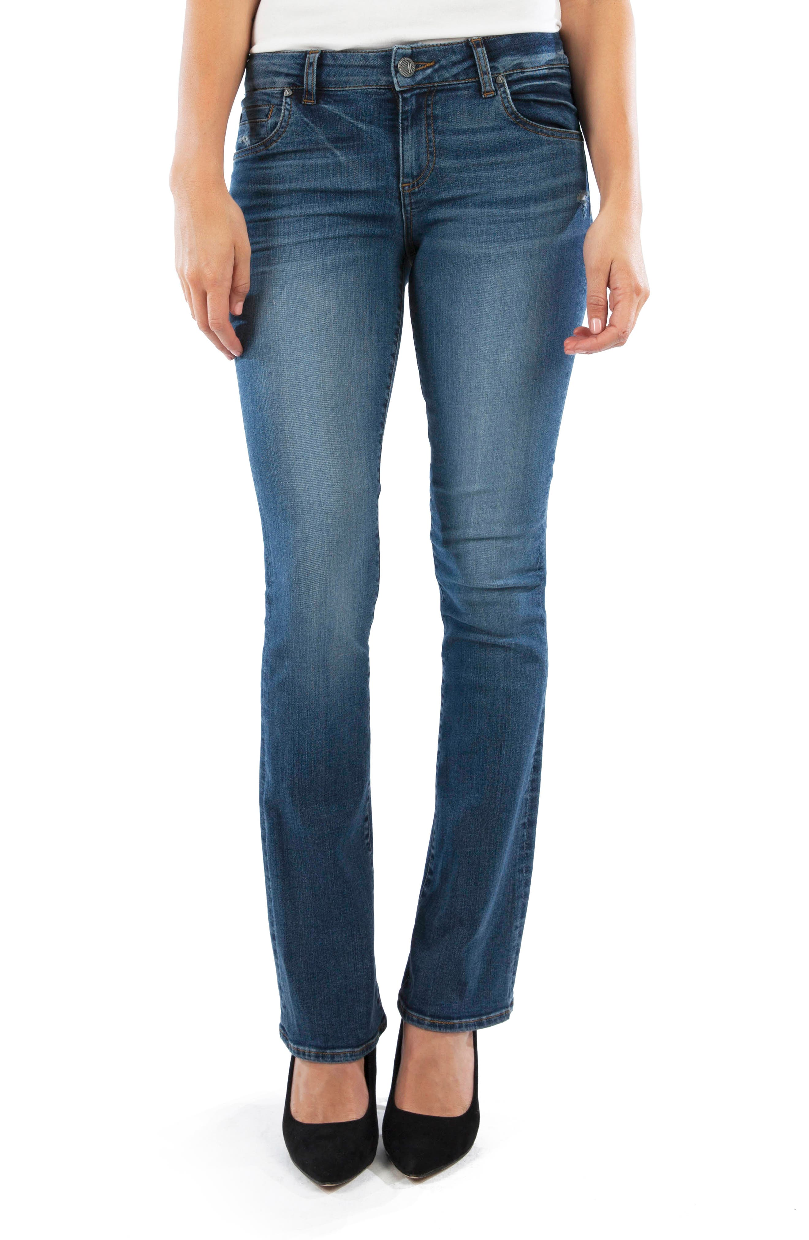 KUT from the Kloth Natalie Bootcut Jeans (Scrumptious)