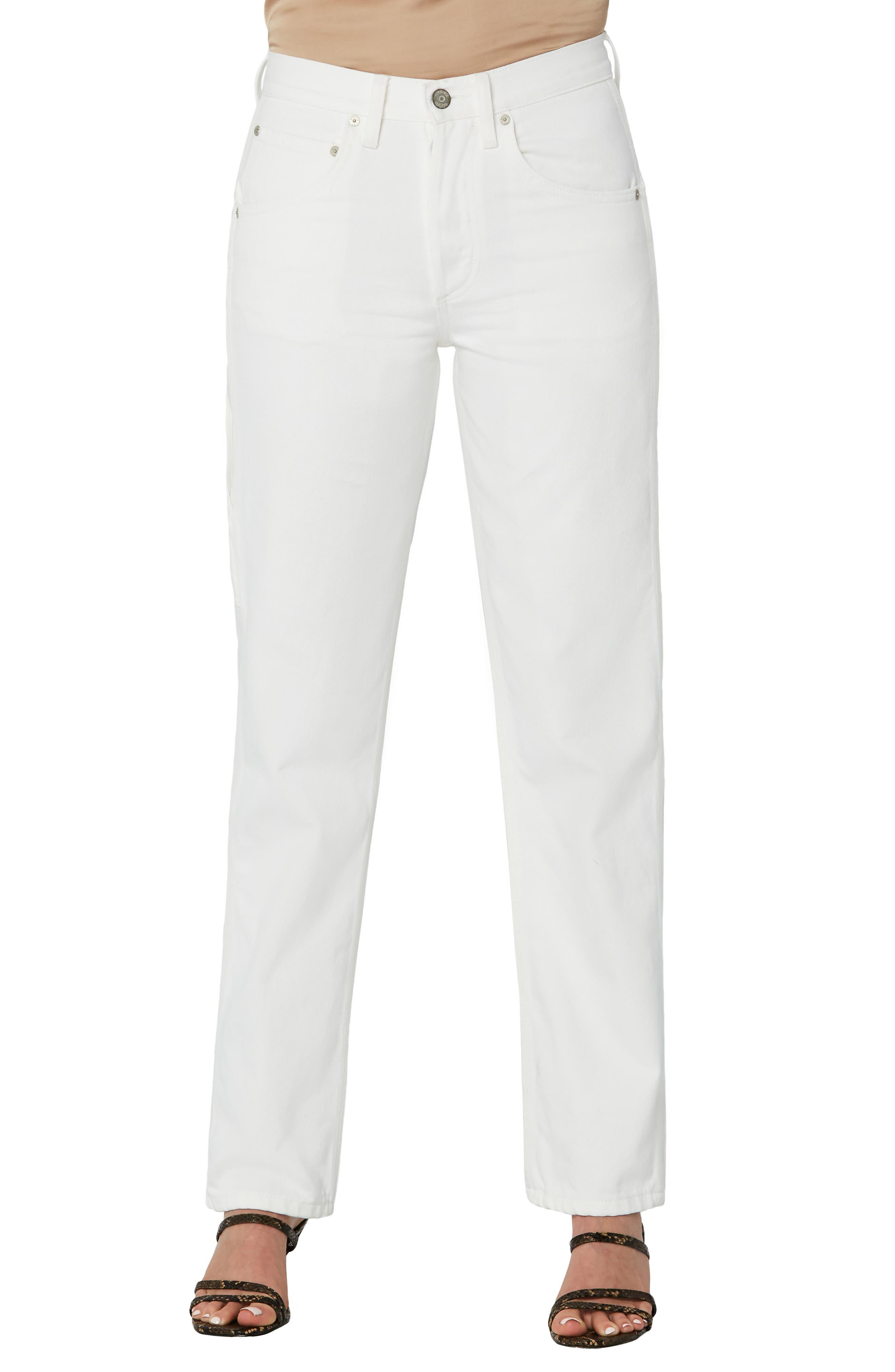The Bailey High Waist Organic Cotton & Lyocell Jeans