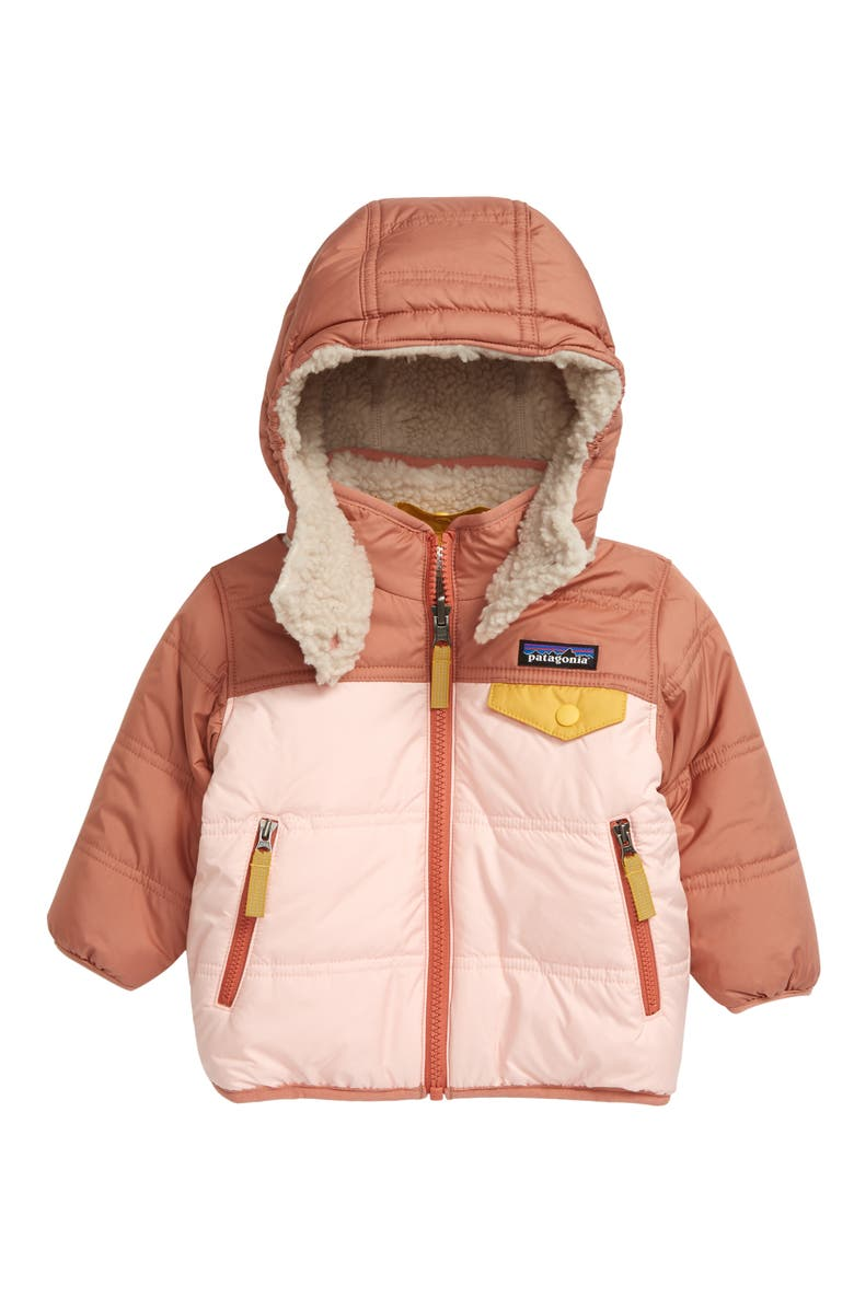 Patagonia Tribbles Reversible Jacket (Baby Girls) | Nordstrom