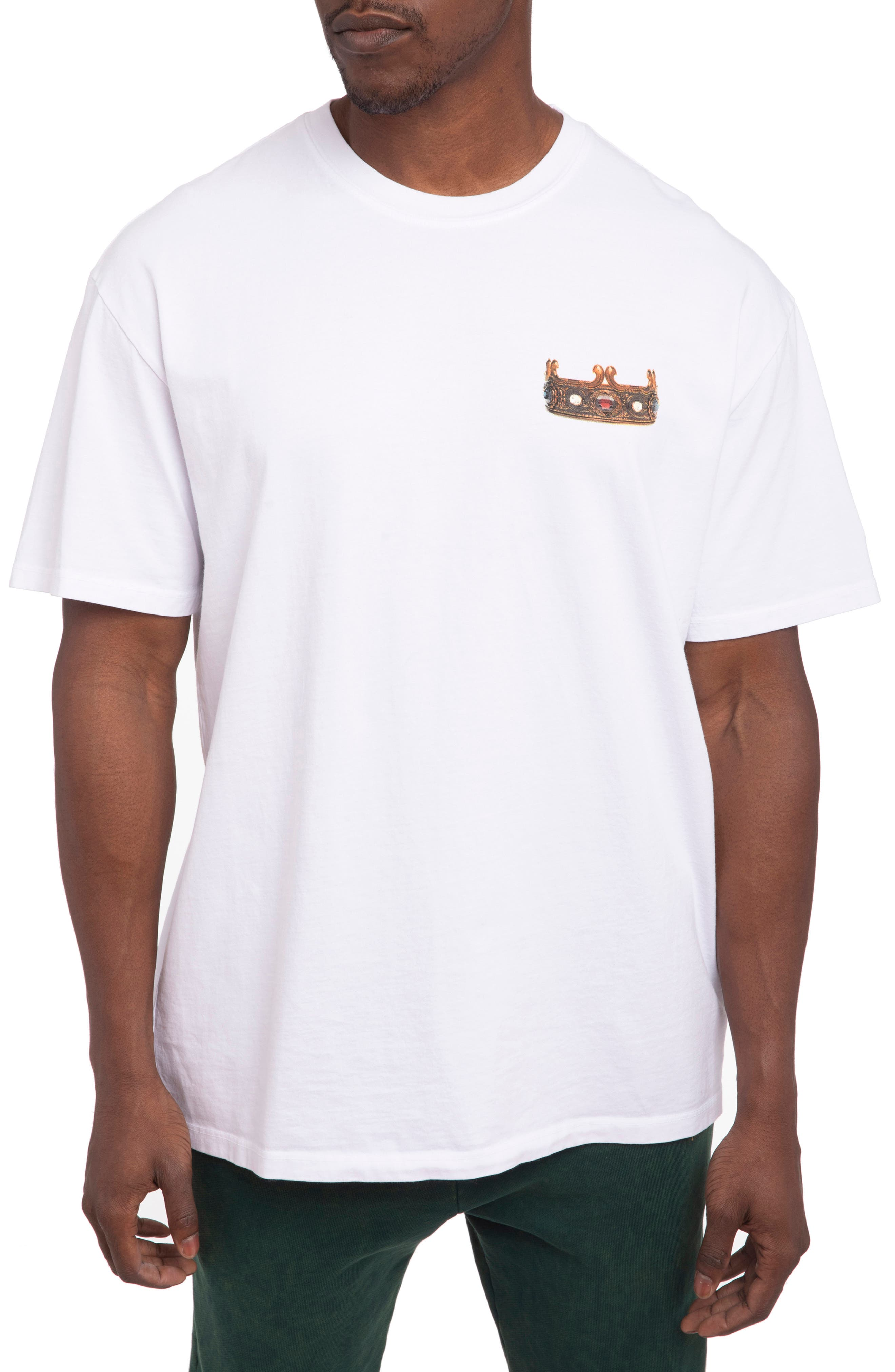 Men's Hstry By Nas X Coming 2 America Queens Oversize Graphic Tee
