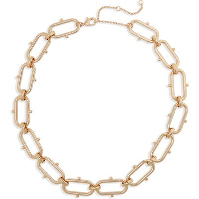 Bp. Oval Link Collar Necklace
