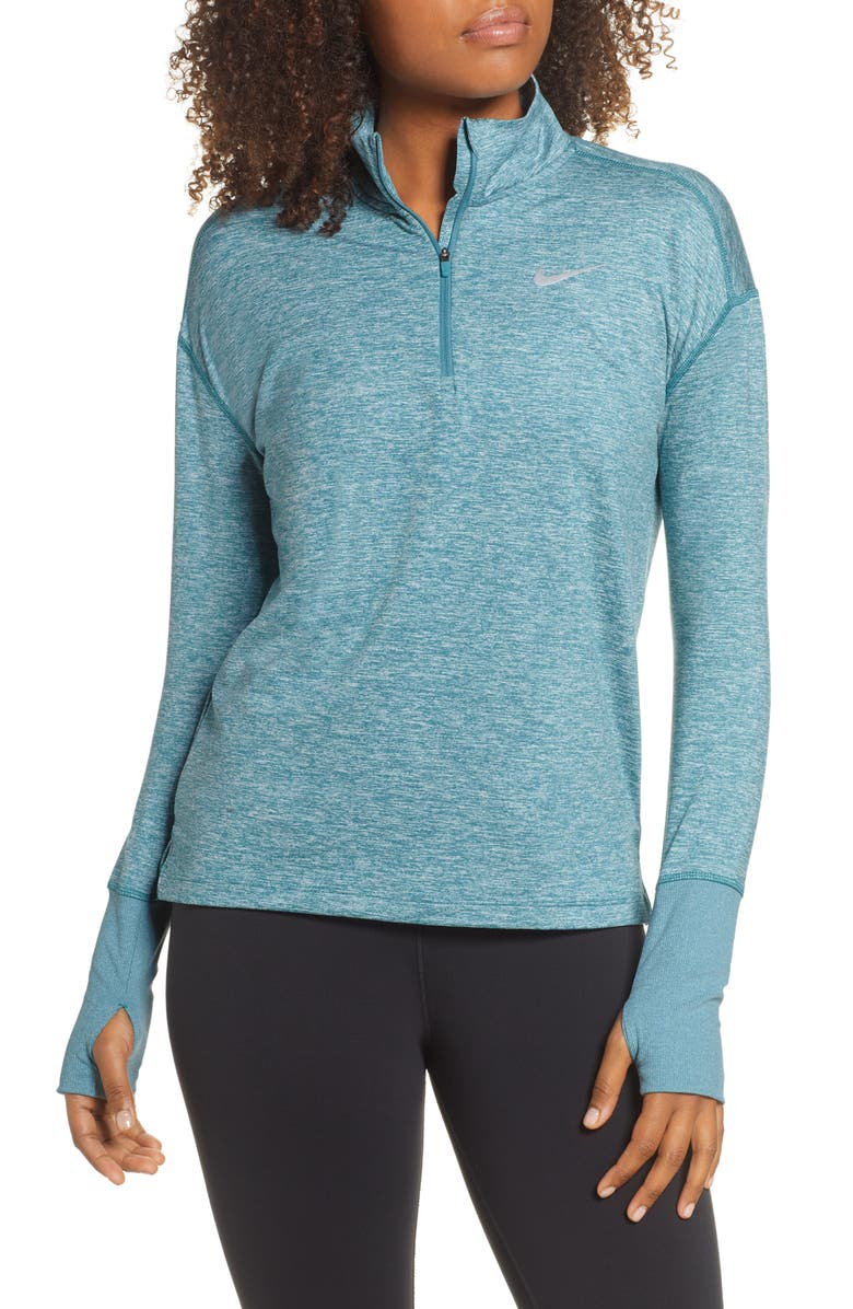 NIKE Element Long-Sleeve Running Top, Main, color, 437
