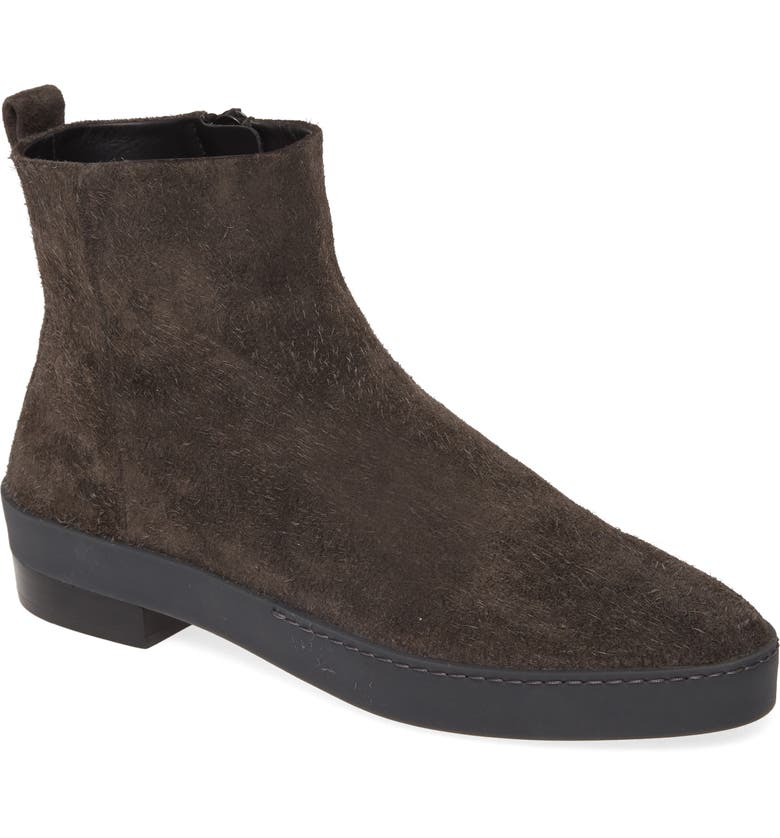 FEAR OF GOD Santa Fe Zip Boot, Main, color, ANTHRACITE