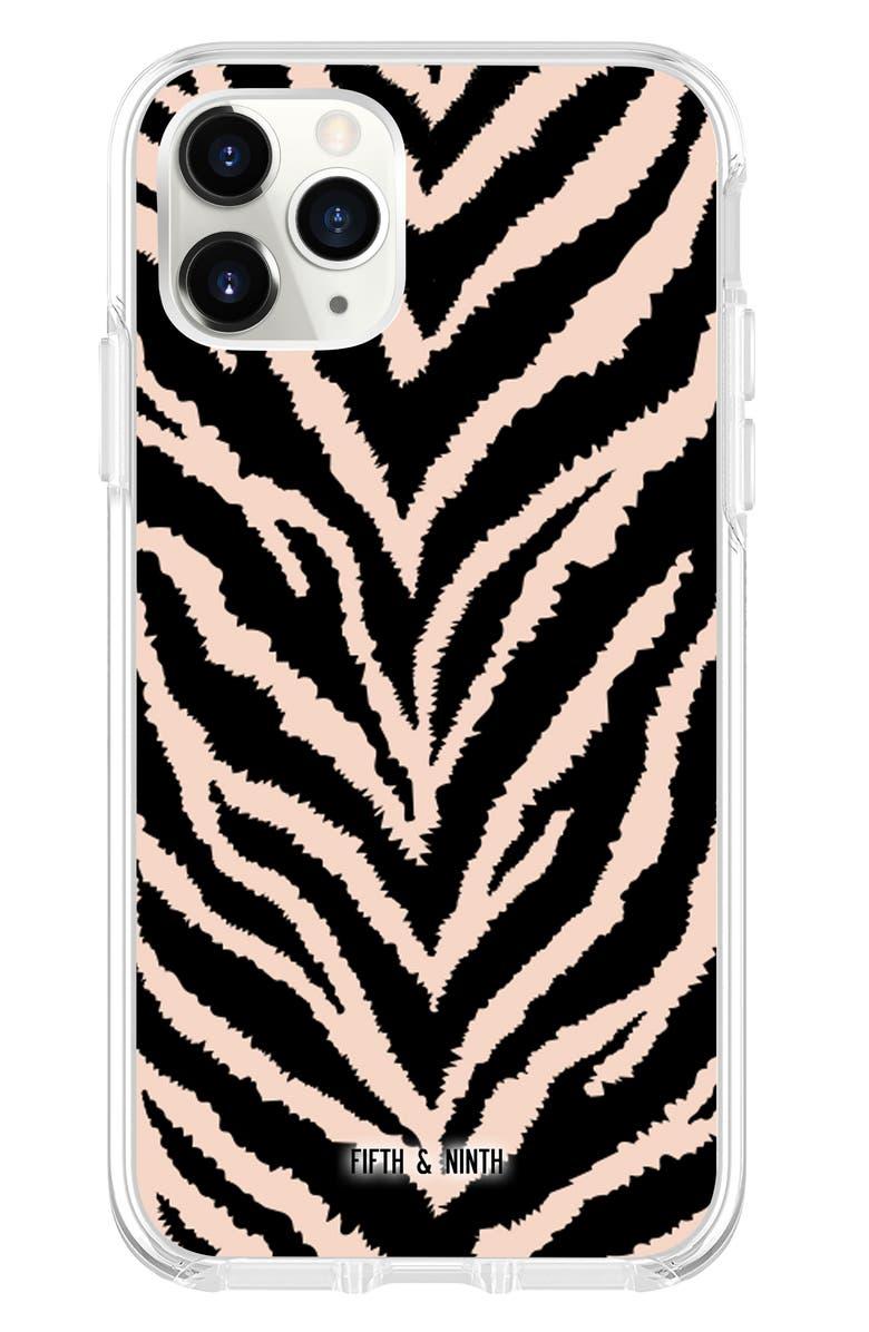 FIFTH & NINTH Safari iPhone 11, 11 Pro & 11 Pro Max Case, Main, color, BLACK