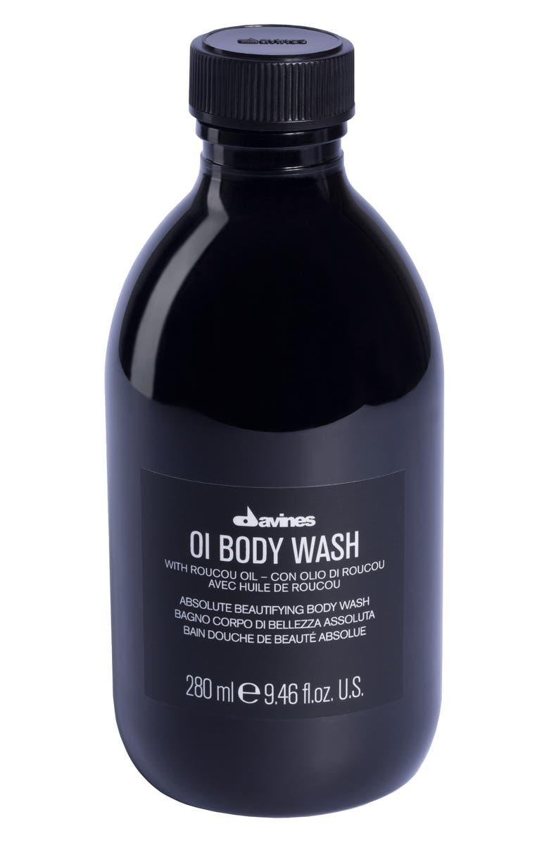 DAVINES OI Body Wash, Main, color, NO COLOR
