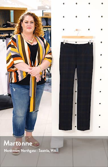 Plaid Slim Trousers, sales video thumbnail