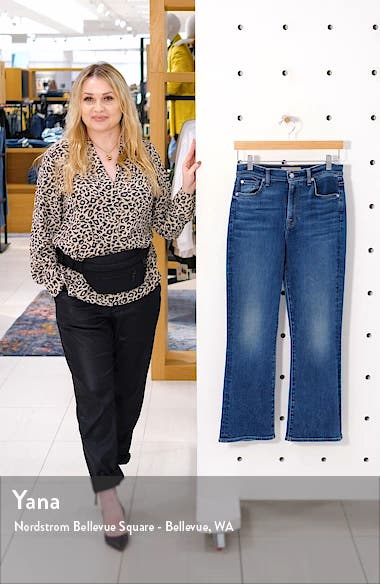 7 For All Mankind High Waist Slim Fit Kick Flare Jeans, sales video thumbnail