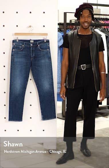 Emerson Crop Slim Fit Boyfriend Jeans, sales video thumbnail