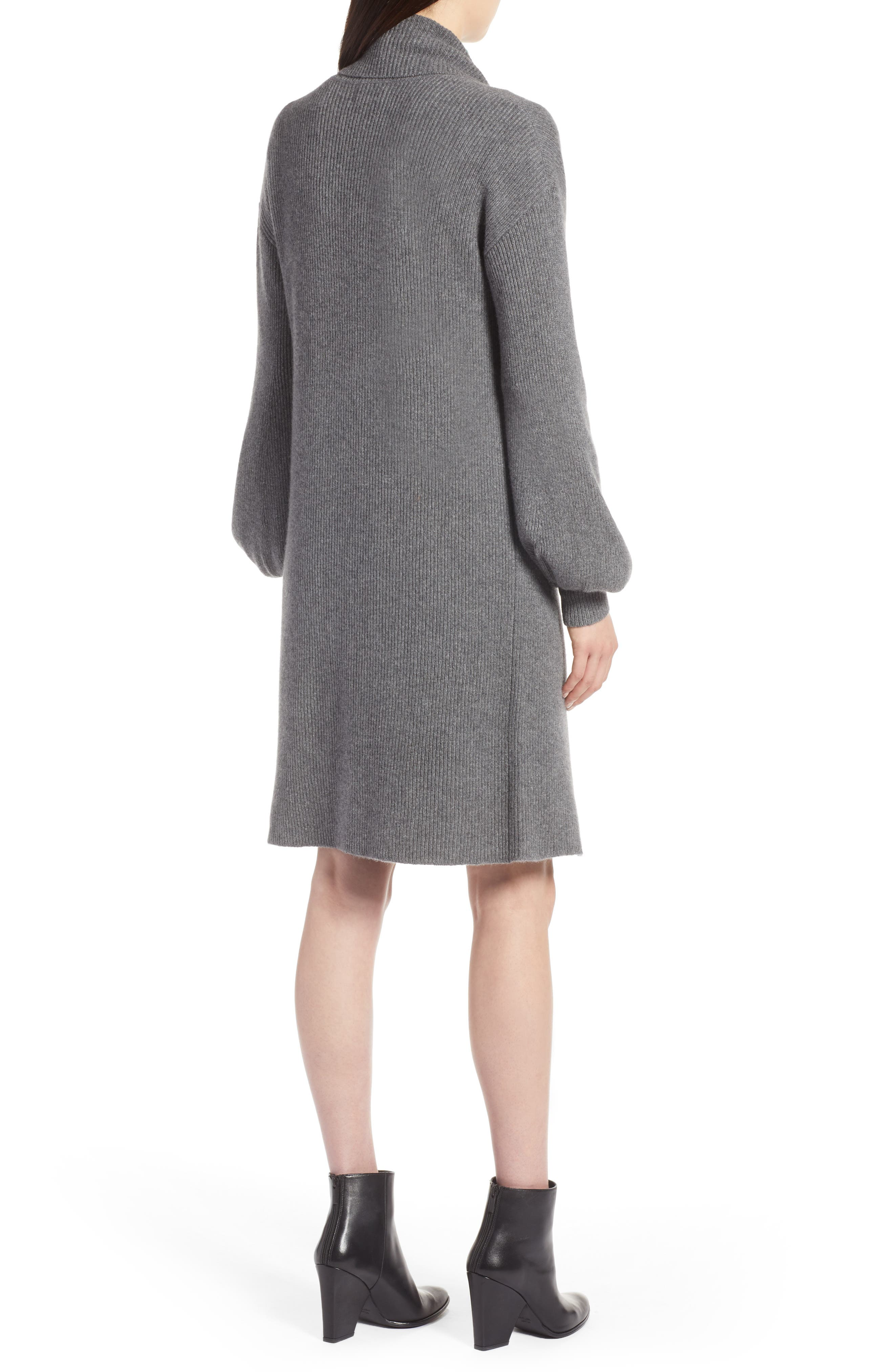 ,                             Blouson Sleeve Long Cashmere Cardigan,                             Alternate thumbnail 2, color,                             032