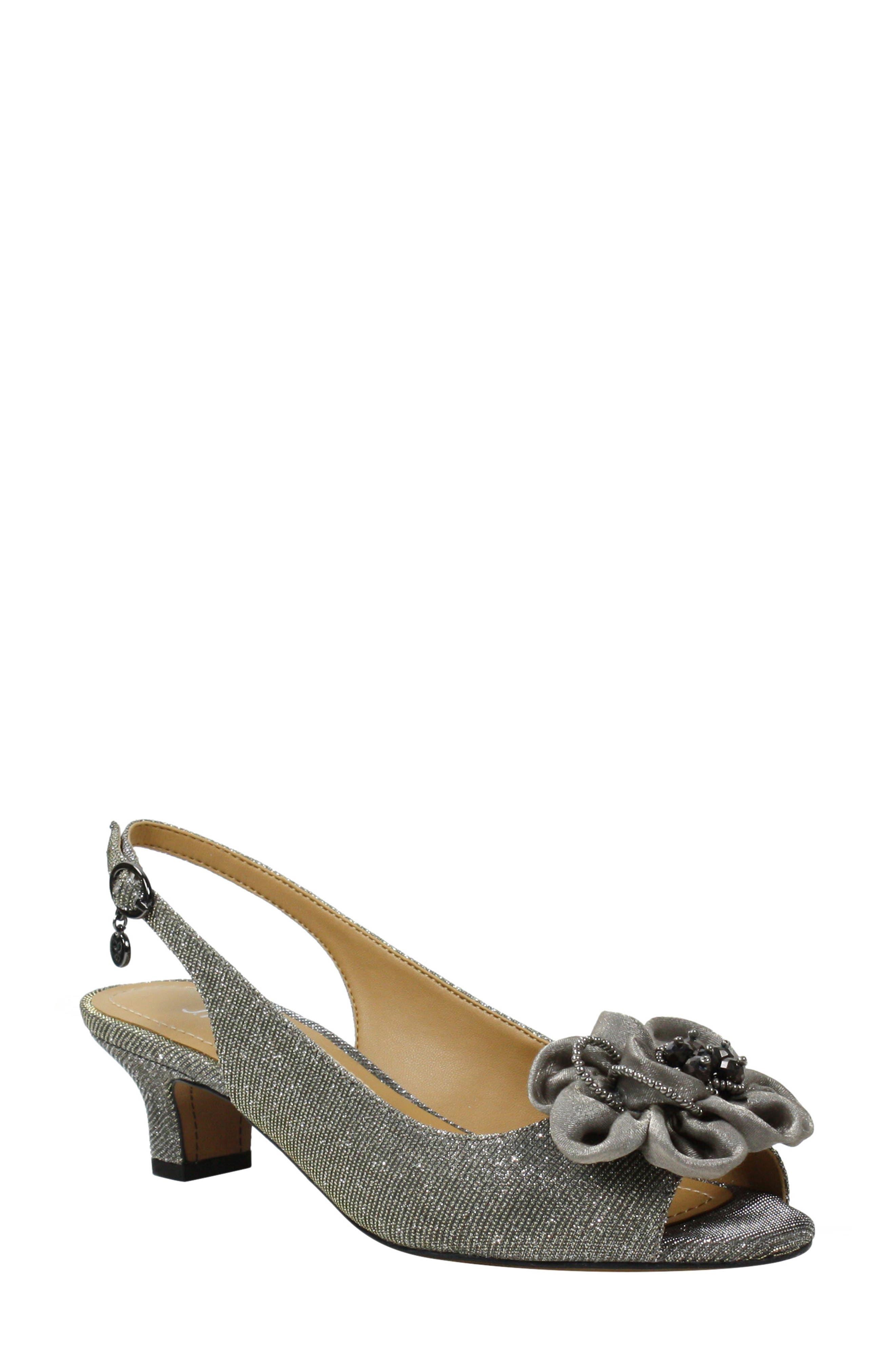 Leonelle Slingback Kitten Heel Sandal