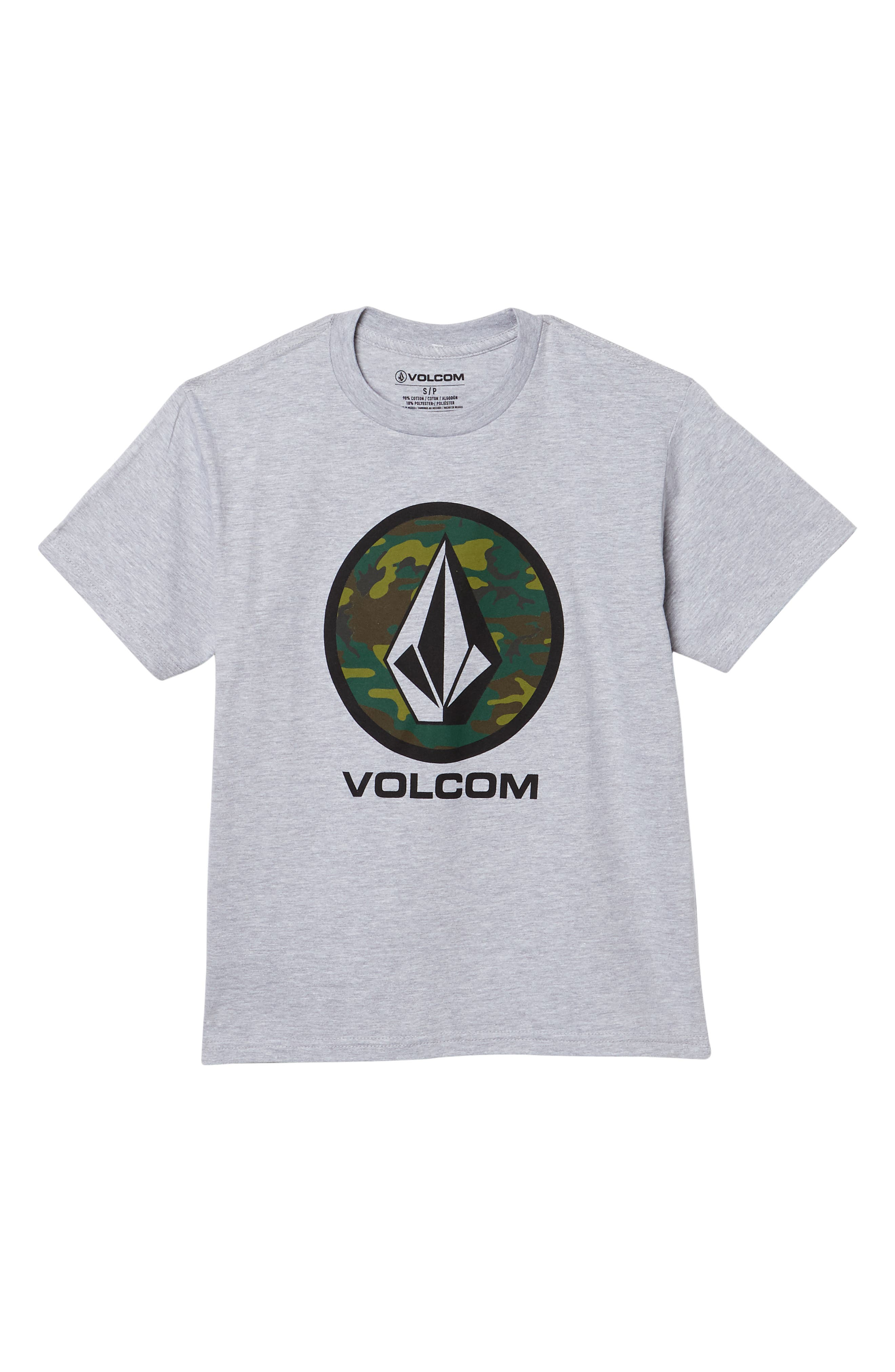 Image of Volcom Camo Stone Graphic T-Shirt