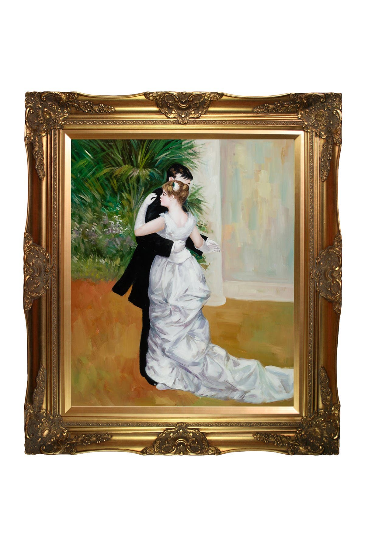 """Image of Overstock Art Pierre Auguste Renoir """"Dance In The City"""" Framed Painting"""