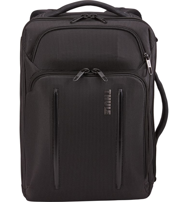 THULE Crossover 2 Convertible Laptop Backpack, Main, color, BLACK