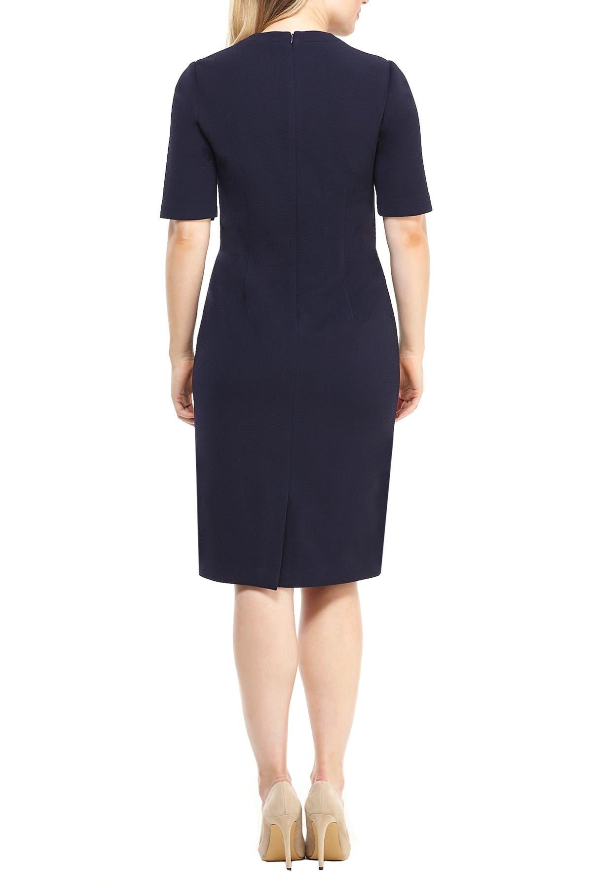 Image of Maggy London Portia V-Neck Sheath Dress