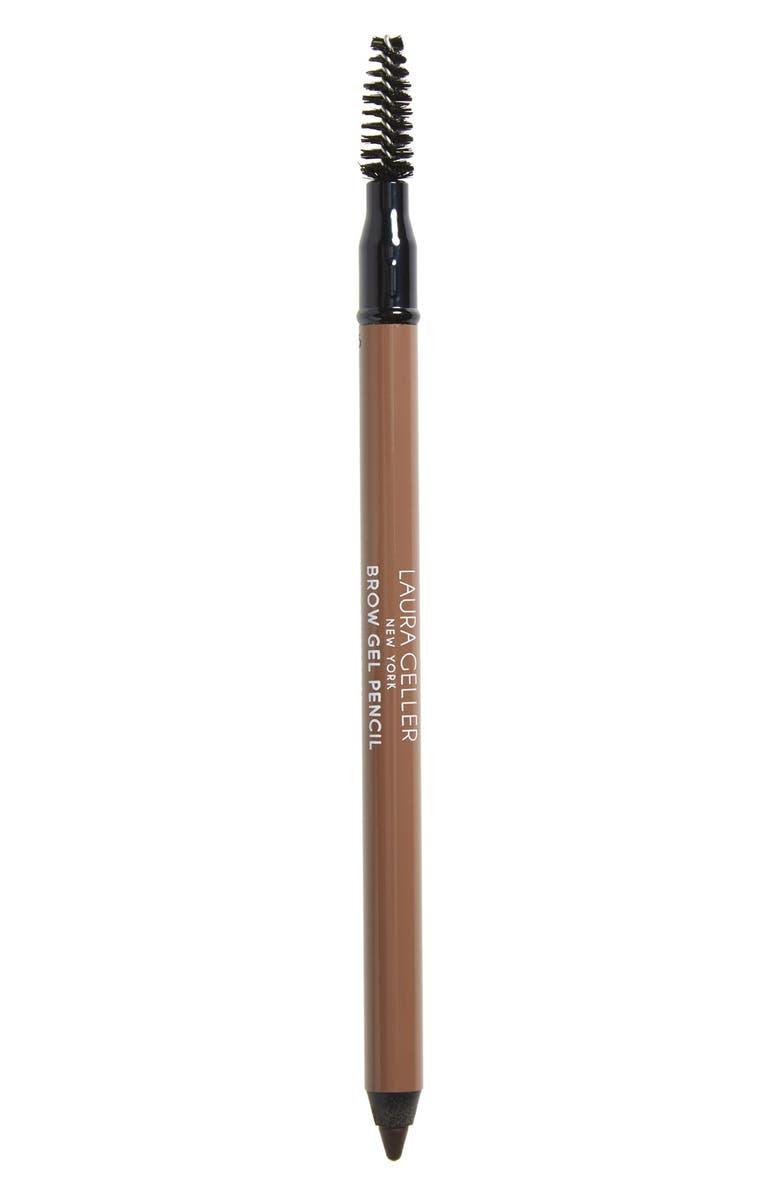 LAURA GELLER BEAUTY Brow Gel Pencil, Main, color, CHARCOAL