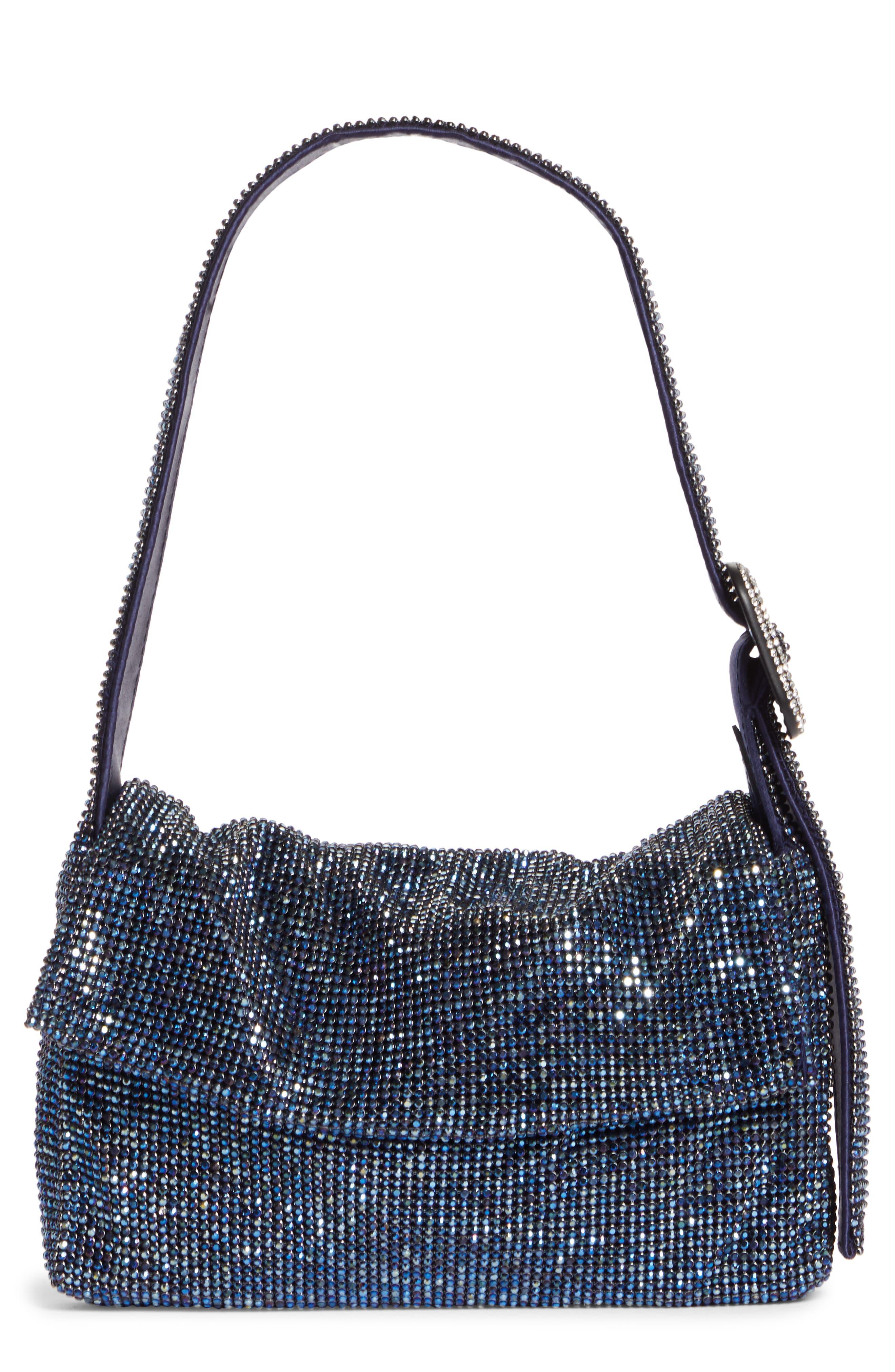 Vitty Mignon Crystal Mesh Shoulder Bag
