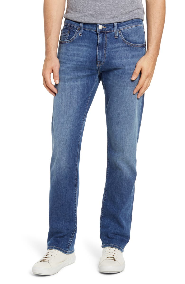 MAVI JEANS Zach Modern Straight Leg Jeans, Main, color, 420