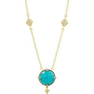 Freida Rothman Color Theory Round Pendant Necklace