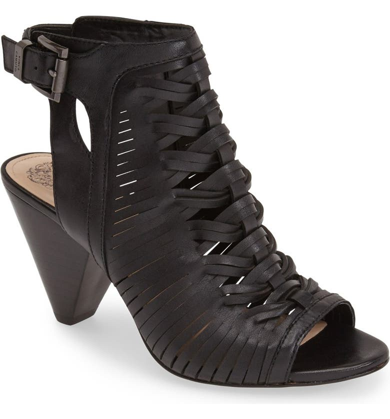VINCE CAMUTO 'Emore' Leather Sandal, Main, color, 001