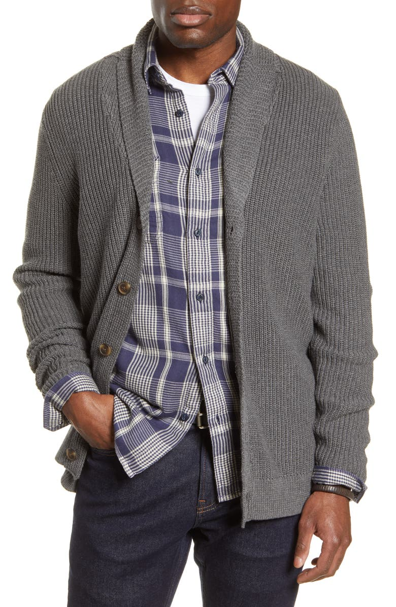 1901 Shawl Collar Cardigan, Main, color, 021