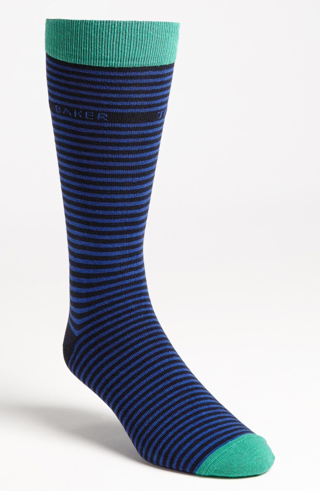 ,                             Stripe Socks,                             Main thumbnail 5, color,                             410