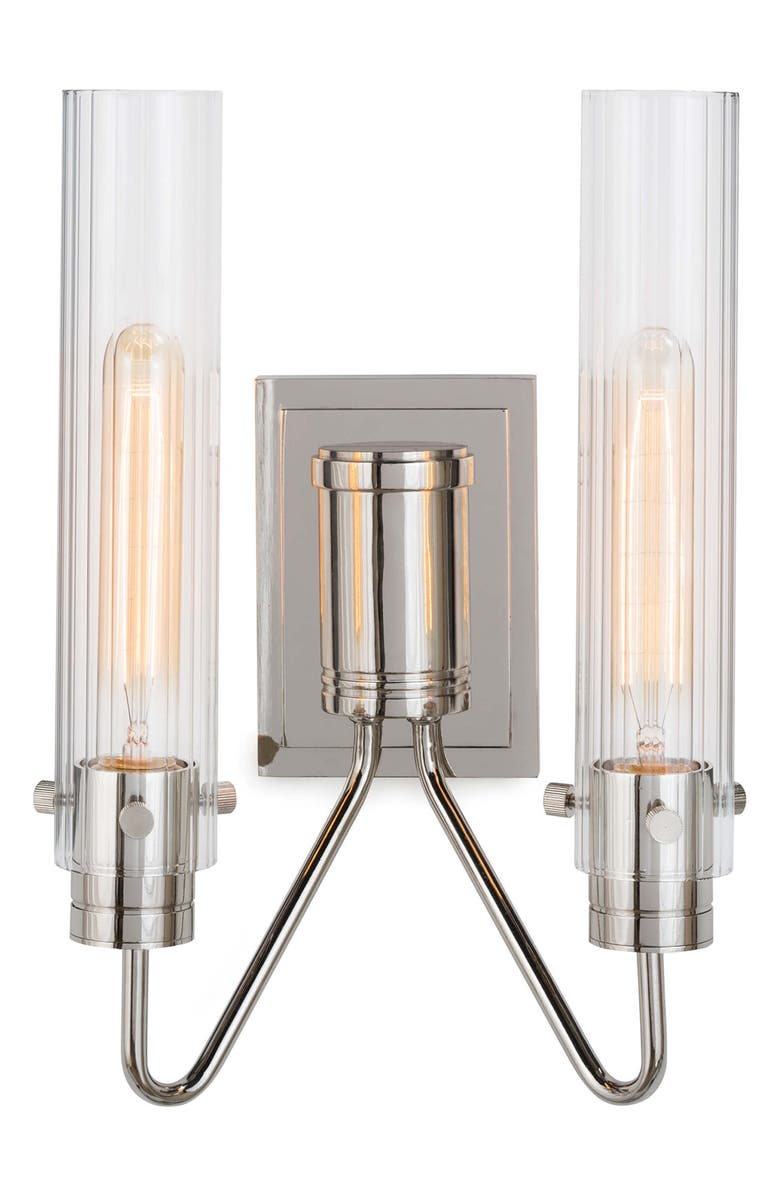 REGINA ANDREW Neo Sconce, Main, color, POLISHED NICKEL