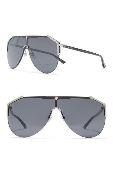 Image of GUCCI 99mm Shield Sunglasses