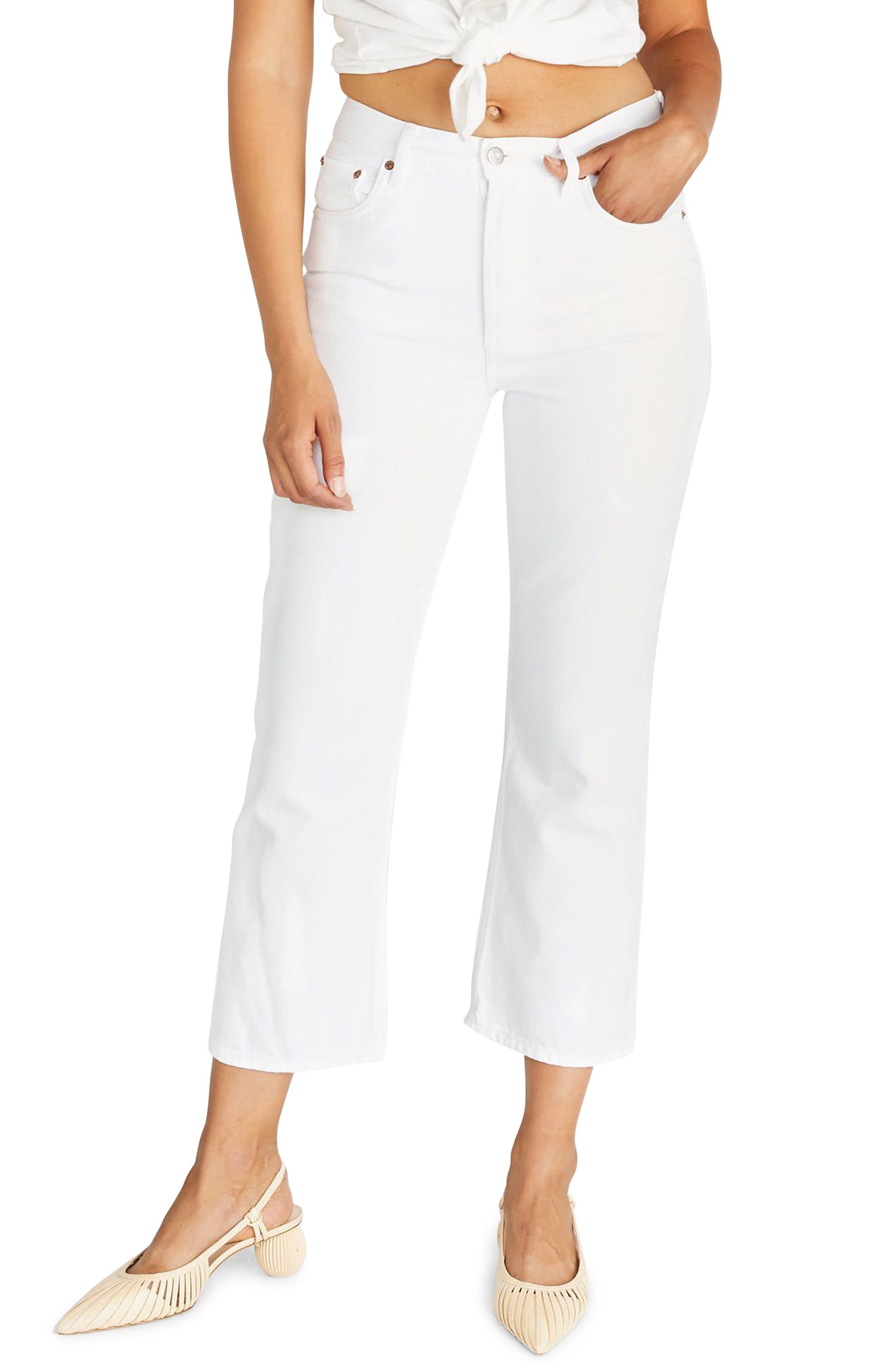 Women's Etica Josie Pop Crop High Rise Jeans