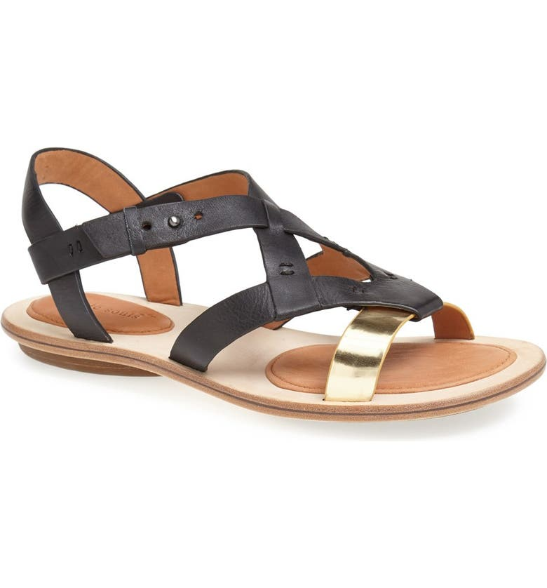 GENTLE SOULS BY KENNETH COLE Gentle Souls 'Us Two' Sandal, Main, color, 001