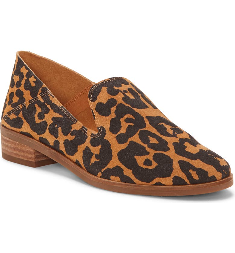 LUCKY BRAND Cahill Flat, Main, color, NATURAL LEATHER