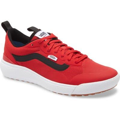 Vans Ultrarange Exo Sneaker- Red
