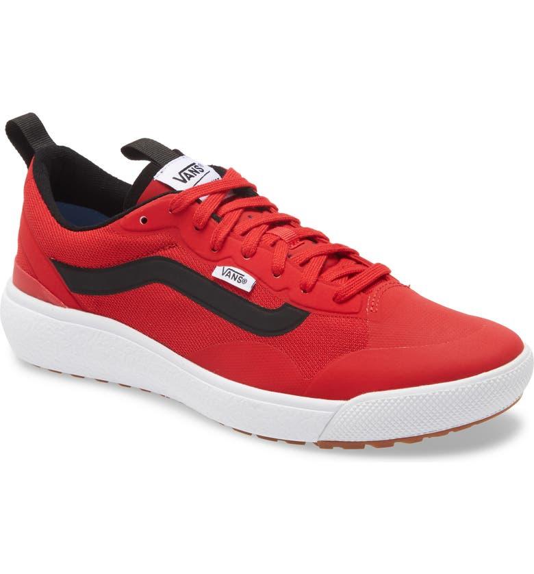 VANS Ultrarange Exo Sneaker, Main, color, RED