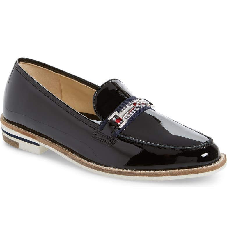 ARA Kade Loafer, Main, color, BLACK PATENT LEATHER