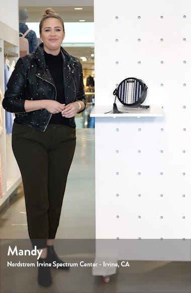 Armara Woven Circle Crossbody Bag, sales video thumbnail