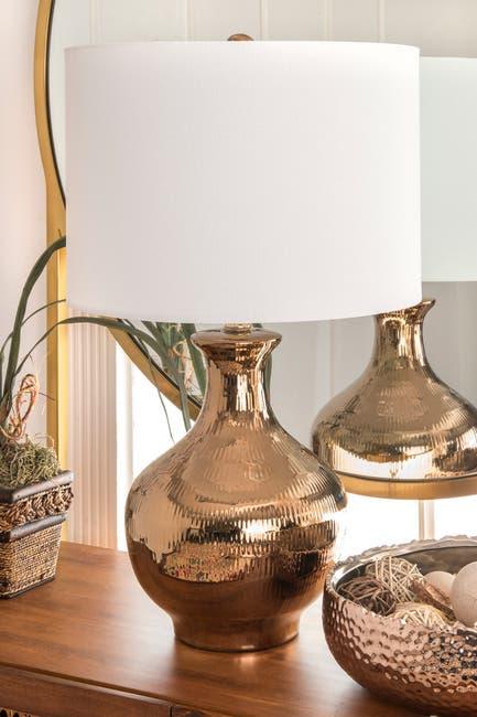 "Image of nuLOOM 23"" Haze Ceramic Table Lamp"