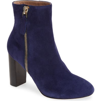 James Chan Delia Bootie, Blue