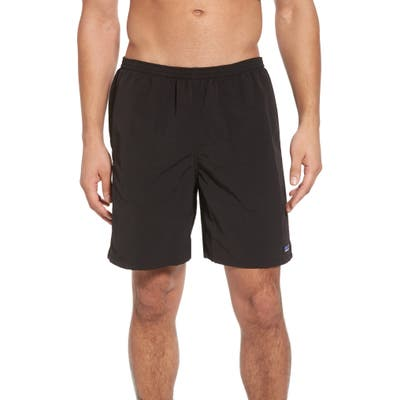 Patagonia Baggies 7-Inch Swim Trunks, Black