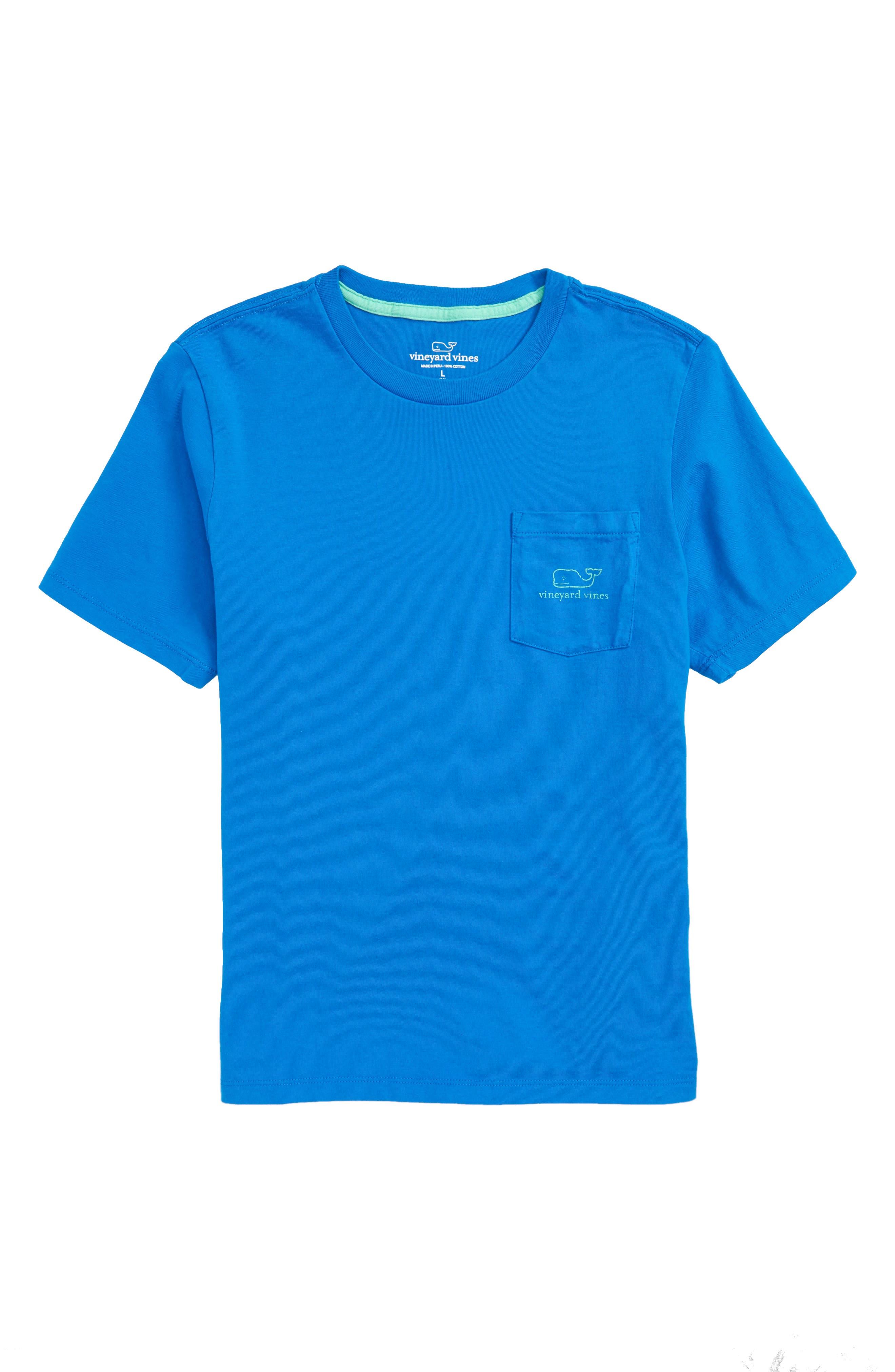 Boys Vineyard Vines Whale TShirt Size XL (18)  Blue