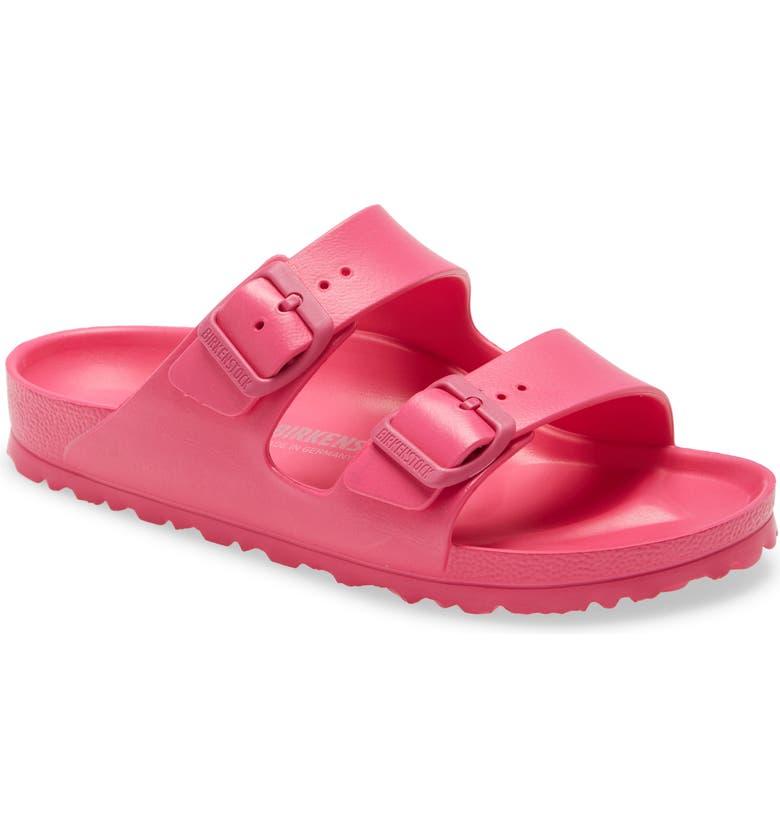BIRKENSTOCK Essentials Arizona Waterproof Slide Sandal, Main, color, BEETROOT PURPLE