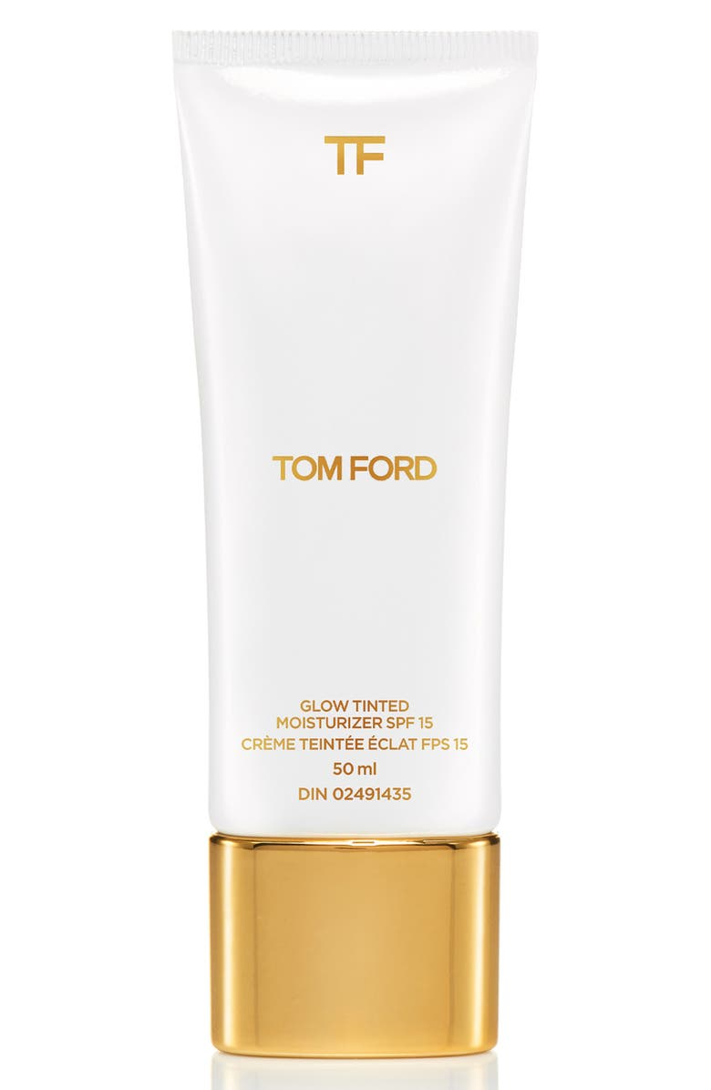TOM FORD Soleil Glow Tinted Moisturizer SPF 15, Main, color, 9.5 WARM ALMOND