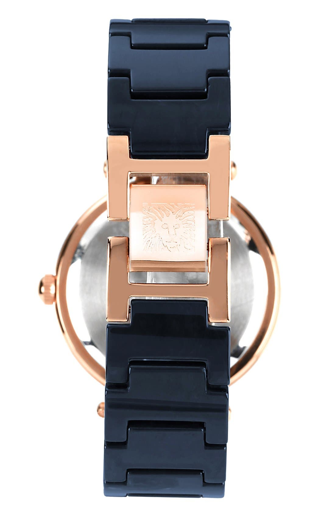,                             Round Ceramic Bracelet Watch, 31mm,                             Alternate thumbnail 14, color,                             400