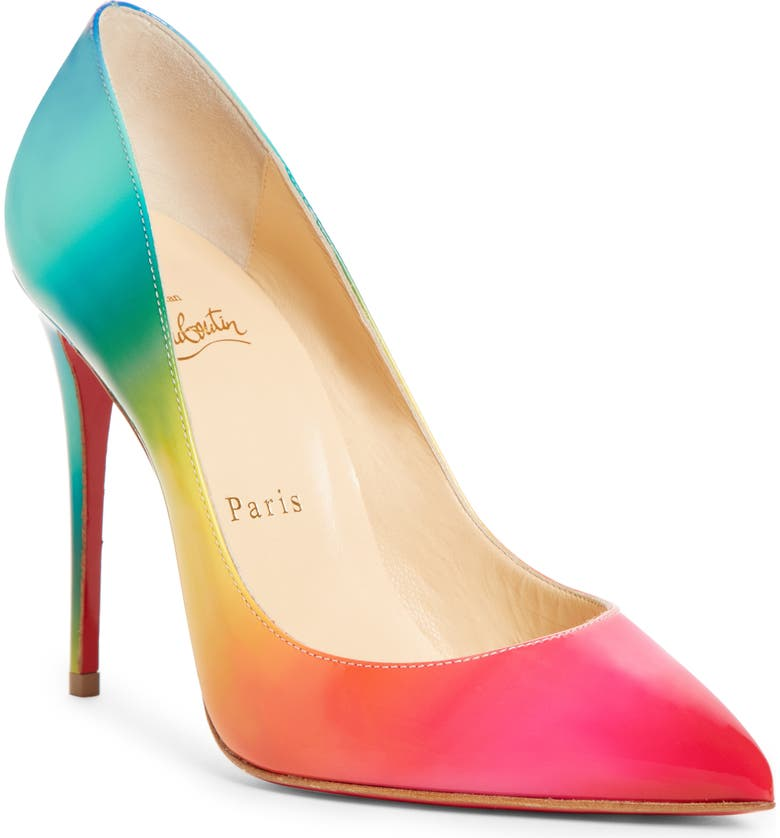 new style 18f92 f978b Pigalle Follies Rainbow Pump
