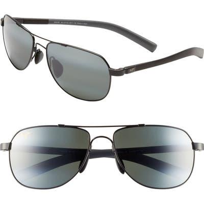 Maui Jim Maui Flex Polarizedplus2 5m Aviator Sunglasses -