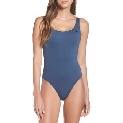 Nike U-Back One-Piece Swimsuit, Grey