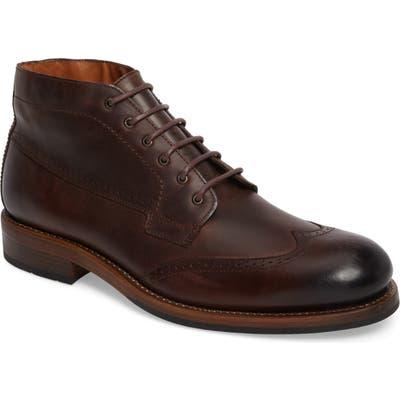 Wolverine Harwell Wingtip Boot - Brown