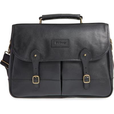 Barbour Leather Briefcase -