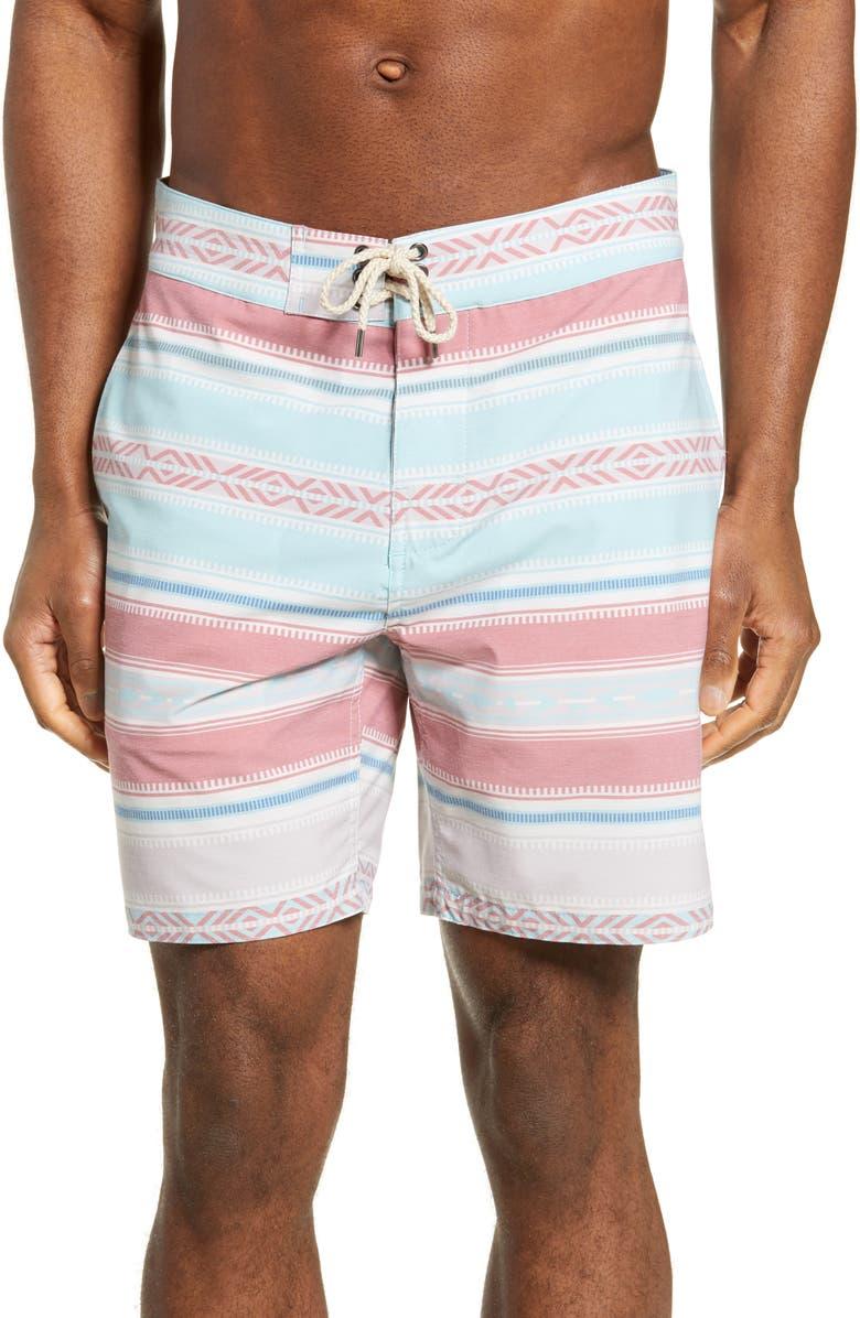 f8fb39bed2 Stripe Board Shorts, Main, color, MIRAGE SALTILLO